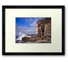 Victoria Beach Turret Framed Print