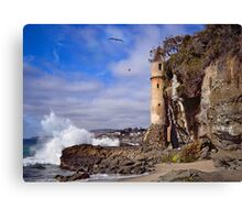 Victoria Beach Turret Canvas Print