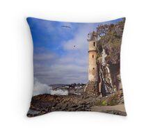 Victoria Beach Turret Throw Pillow