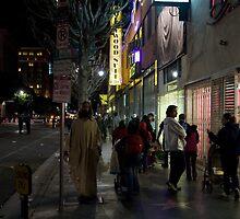 Jesus on Hollywood by Greg Kaczynski