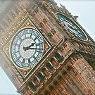 Misty Big-Ben London by Tenee Attoh