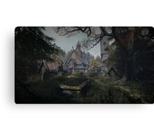 The Vanishing Of Ehtan Carter - The Cemetery Canvas Print