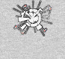 Alpha Moon Base Grunge Back Unisex T-Shirt