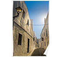 Vejer street scene Poster