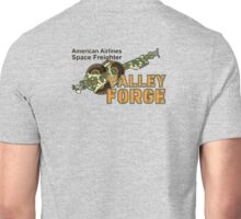 Valley Forge Space Freighter - back Unisex T-Shirt
