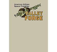 Valley Forge Space Freighter - back Photographic Print