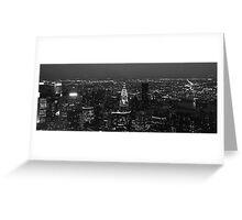 New York Skyline Greeting Card