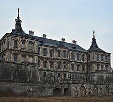 Twilight Castle by Oleksii Rybakov