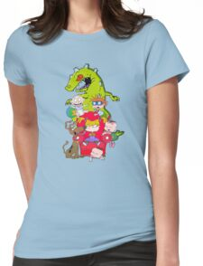rug rats Womens Fitted T-Shirt