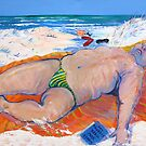 While you were sleeping or ..Beached As ;-)) by Virginia McGowan