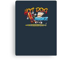 Hot Dog and a Shake - front Canvas Print