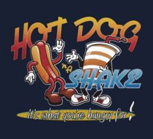 Hot Dog and a Shake - front by Jeffery Wright