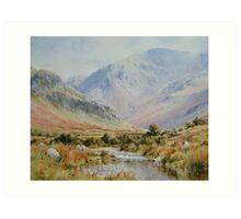 Newlands Valley, Cumbria, England Art Print