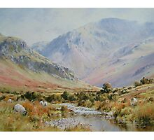 Newlands Valley, Cumbria, England Photographic Print