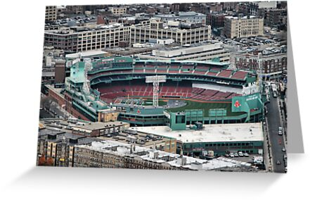 Fenway Park by Paul Gibbons