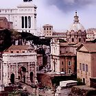 The Roman Forum by TravelerScout