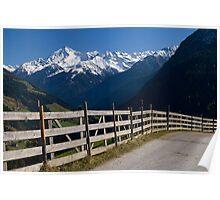 Alpine Fence Poster