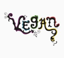 Vegan t shirt Kids Clothes