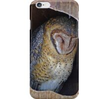 Sleeping Owl iPhone Case/Skin