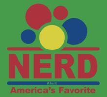 nerd alert white  Kids Clothes
