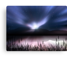 Dawn Dreamscape Canvas Print