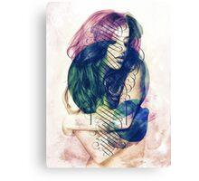 Ecstasy Has No Name. Canvas Print