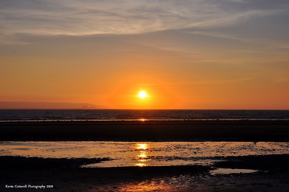 Champagne Sunset by Kevin Cotterell