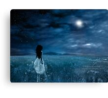 Where The Wind Whispers To Me... Canvas Print