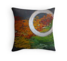 Defining Moments - By Annie Warhol Throw Pillow