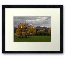 Edinburgh Autumn Framed Print
