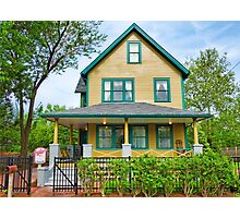 A Christmas Story House  Photographic Print