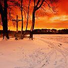Christmas time at the crossroads by Patrycja Makowska