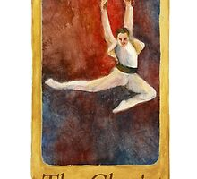 Ballet Tarot Cards: The Chariot by Julia Tyler
