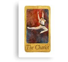 Ballet Tarot Cards: The Chariot Canvas Print