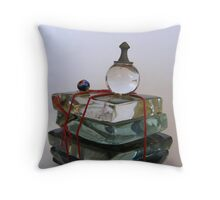 Crystal Ball and Bead Tell Throw Pillow