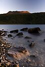 Mt Tarawera, Sunset by Michael Treloar