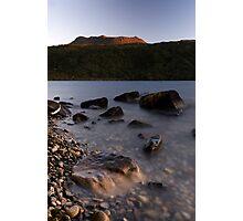Mt Tarawera, Sunset Photographic Print