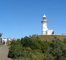 Byron Bay's Famous Lighthouse! New South Wales Coast. by Rita Blom