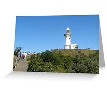 Byron Bay's Famous Lighthouse! New South Wales Coast. Greeting Card