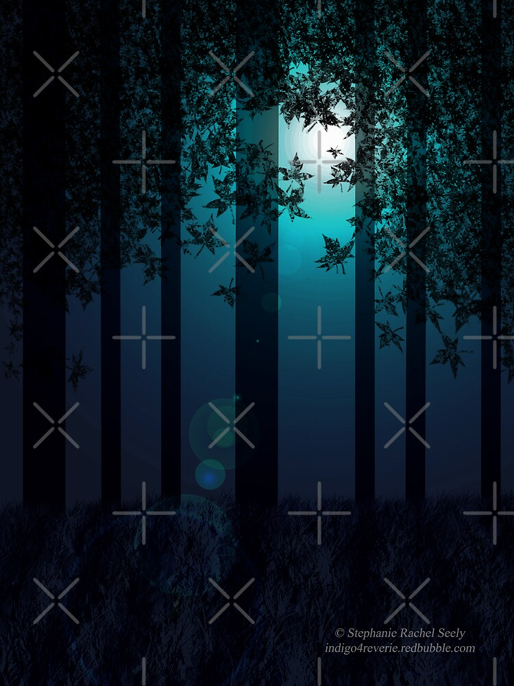 Woodland Moonlight by Stephanie Rachel Seely