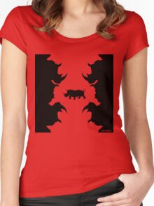 ClassicRhino_K Women's Fitted Scoop T-Shirt