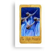 Ballet Tarot Cards: The High Priestess Canvas Print