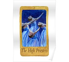 Ballet Tarot Cards: The High Priestess Poster
