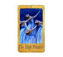 Ballet Tarot Cards: The High Priestess Photographic Print