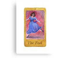 Ballet Tarot Cards: The Fool Canvas Print