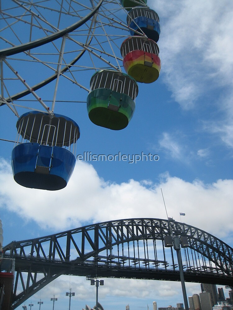 Sydney Harbour Ferris Bridge by ellismorleyphto