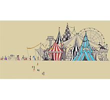 circus and goers Photographic Print