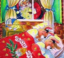 Waiting for Santa Claus by Francesca Romana Brogani