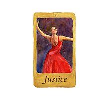 Ballet Tarot Cards: Justice Photographic Print