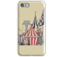 circus and goers iPhone Case/Skin
